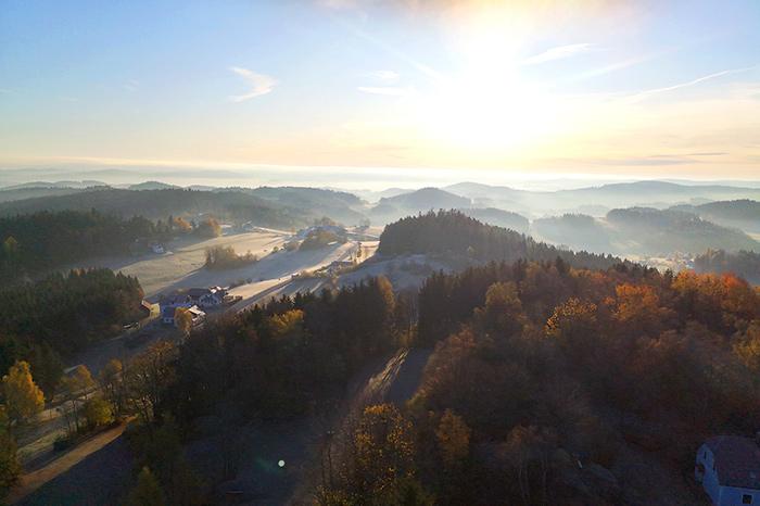 Arbesbach Ruinenblick