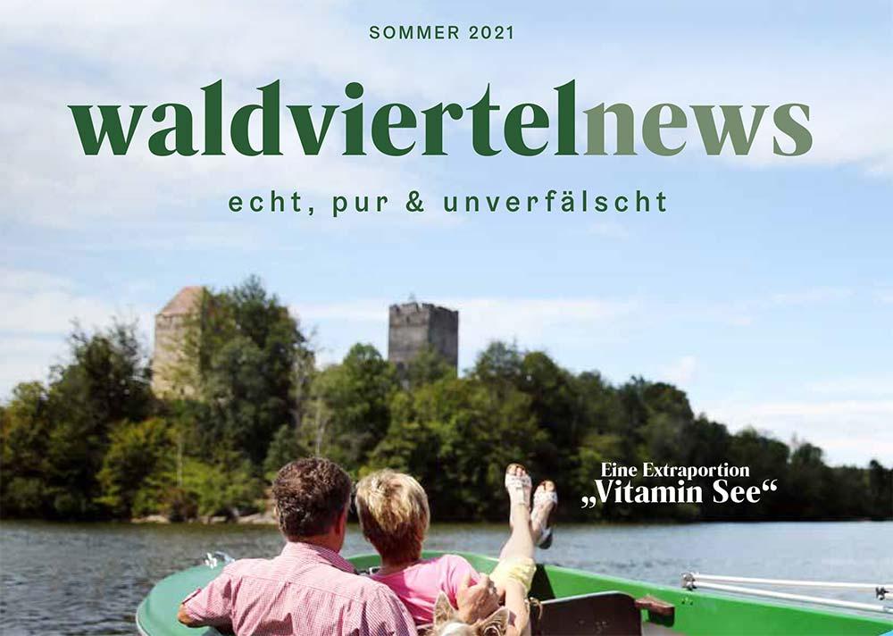 waldviertelnews Cover Frühling 2021